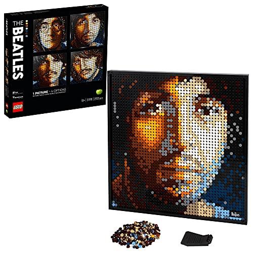 LEGO 31198 Art The Beatles Set, Poster für Sammler, Wanddekoration, DIY Puzzle für Erwachsene