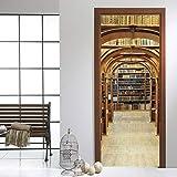 Autoadhesivo Estante Para Libros Mural Wallpaper Estéreo 3D Etiqueta De La...
