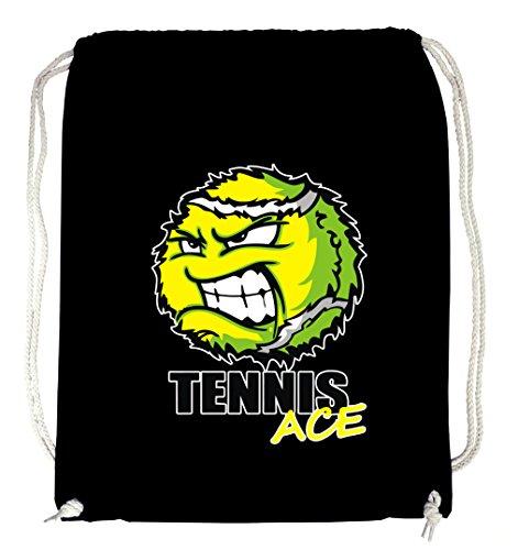 Certified Freak Tennis Ace Gymsack Black