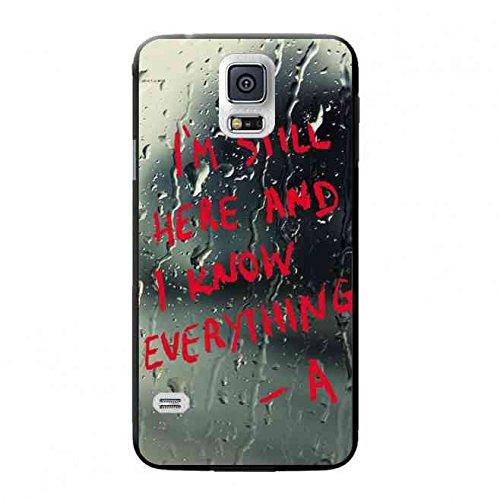 America Mystery Serie TV Serie Pretty Little Liars Custodia in silicone,  Apple Samsung Galaxy S5 Pretty Little Liars caso classico Samsung Galaxy S5  ...
