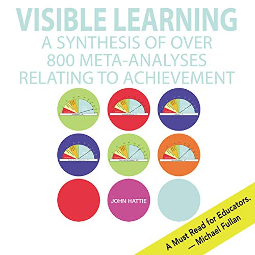 Visible Learning audiobook cover art