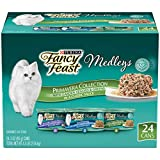 Purina Fancy Feast Gravy Wet Cat Food Variety Pack, Medleys Primavera Collection - (24) 3 oz. Cans