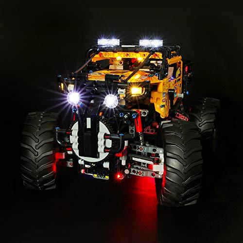 LIGHTAILING Licht-Set Für (Technic 4x4 X-Treme Off-Roader) Modell - LED Licht-Set Kompatibel Mit Lego 42099(Modell Nicht Enthalten)