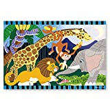 Product Image of the Melissa & Doug 24pc Safari Social Floor Puzzle
