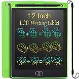 JOEAIS Tableta de Escritura LCD 12 Pulgadas, Vistoso Anti-caída Tablet Dibujo, Tablet para Dibujar para Niños, Regalo para Niños Niñas