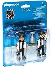 Playmobil NHL Scheidsrechters met Stanley Cup