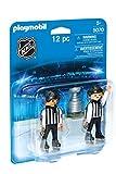 PLAYMOBIL Sports & Action NHL Referees with Stanley Cup Niño 2pieza(s) - Kits de Figuras de Juguete para niños (5 año(s), Niño, Multicolor, Acción / Aventura, Ampolla, 2 Pieza(s))