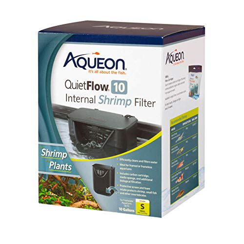 Aqueon QuietFlow Internal Shrimp Filter