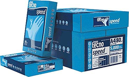 Inapa Tecno Speed/1298110661 DIN A4 weiß geriest 80 g/qm Inh.5000