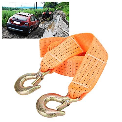 Cuerda de polipropileno, cuerda de Bubba, suministros de emergencia para automóvil, correa de recuperación, cuerda de remolque, correas de remolque, resistentes para arrastrar objetos