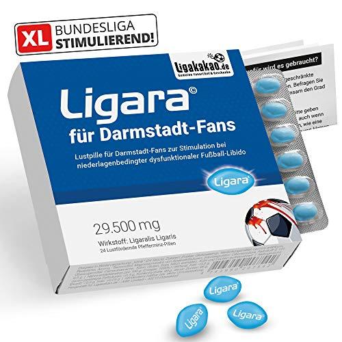 Ligara® für Darmstadt 98-Fans (1x Einzeldosis) Fanartikel Männergeschenke by Ligakakao.de