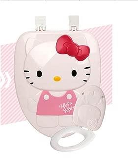 Hello Kitty Toilet Seat Cover New Hard Type Big Size