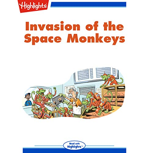 Invasion of the Space Monkeys cover art