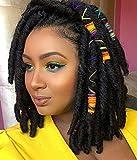HANNE Short Dreadlock Wigs For Black Women...