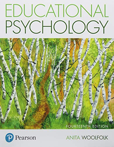 Compare Textbook Prices for Educational Psychology plus MyLab Education with Pearson eText -- Access Card Package What's New in Ed Psych / Tests & Measurements 14 Edition ISBN 9780134446806 by Woolfolk, Anita
