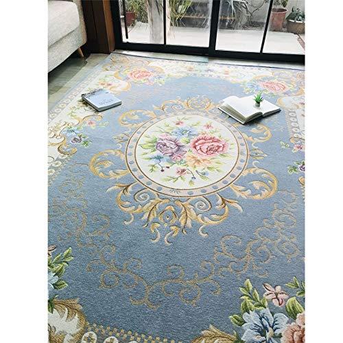 Alfombra De Salón Moderna De Pelo Corto Diseño Marroquí Para Interior En Gris, Home Alfombra De Salón, Tradicional Clásica Floral Alfombra Elegante Gruesa Suave Felpa Calidad D,Patternd,140*160CM