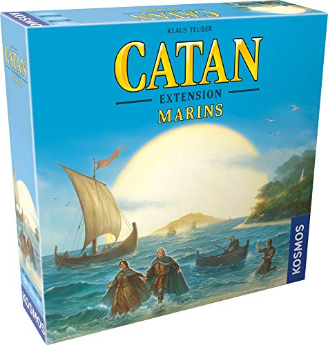 Catan - Extension Marins - Asmodee - Jeu de société - Jeu de plateau - Jeu de stratégie