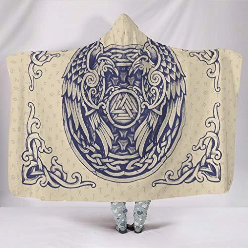 Generic Branded Kuscheldecken Groß Super Gemütlich Retro Muster Wirft Robe - Passend für Alltag für Kinder und Erwachsene Geschenk White 130x150cm