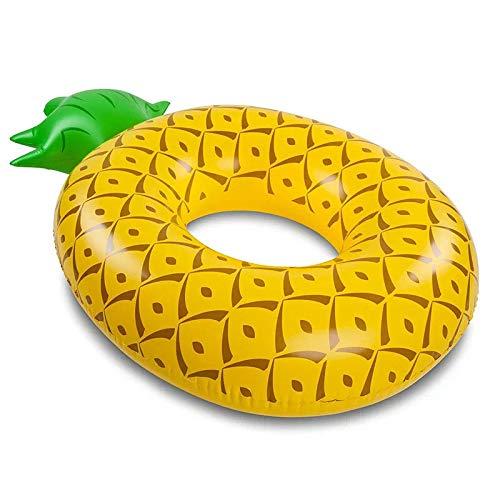 Wowlela Luftmatratze Schwimmreifen Aufblasbar Riesiger Ananas Schwimmreifen Wasser Strand Party Kinder Erwachsenen