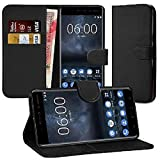 DN-Technology Nokia 3 Case, Nokia 3 Leather Case 2017 Model