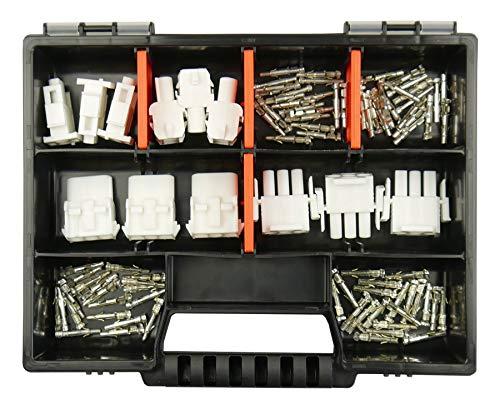 Sortiment Set Universal-Mate-N-Lok Stecker TYCO TE AMP in 2-polig und 3-polig