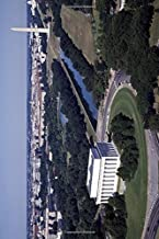 Aerial View of Lincoln Memorial in Washington D.C. Journal: 150 page lined notebook/diary