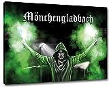 Ultras MönchengladbachBengalo Format: 60x40, Bild auf