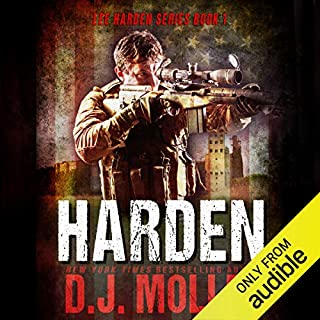 Harden     Lee Harden, Book 1              Written by:                                                                                                                                 D.J. Molles                               Narrated by:                                                                                                                                 Christian Rummel                      Length: 10 hrs and 3 mins     9 ratings     Overall 4.8