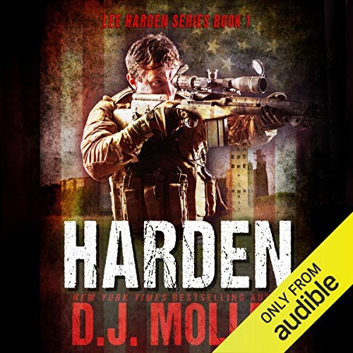 Harden audiobook cover art
