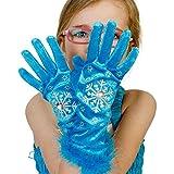 Prinzessin Handschuhe - türkis Eisprinzessin Handschuhe - Lucy Locket -
