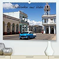 Postkarten aus Kuba (Premium, hochwertiger DIN A2 Wandkalender 2022, Kunstdruck in Hochglanz): Erleben Sie die Faszination von Kuba mit diesen Postkarten-Motiven (Monatskalender, 14 Seiten )
