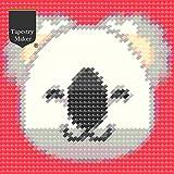 Emoji Needlepoint Kit de Tapiz - Koala