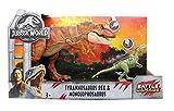 Jurassic World 2 Fallen Kingdom Tyrannosaurus Rex & Monolophosaurus