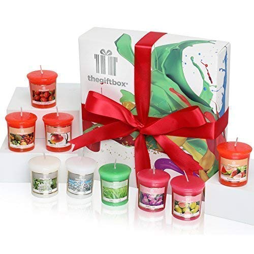 A Luxurious Scented Candle Gift Set with 9 Scented Candles in Enriching Aromas. Scented Candles Make Ultimate Birthday Gifts for Women, Great Gifts for Her or Perfect Women's Gifts. (Stargaze)