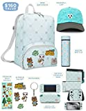 Controller Gear Official Nintendo Animal Crossing: New Horizons Merch - Mini Backpack, Switch + Switch Lite Skins, Screen Protector, Stainless Steel Water Bottle, Beanie - Nintendo Switch