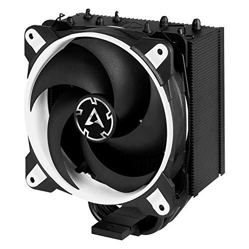 ARCTIC Freezer 34 eSports - Ventola de CPU, Enfriador de CPU Push-Pull, Intel: 2066, 2011(-3), 1155, 1151, 1150, 1200; AMD: AM4, 200-2100 RPM, Ventilador PWM 120 mm, CPU Cooler - Blanco