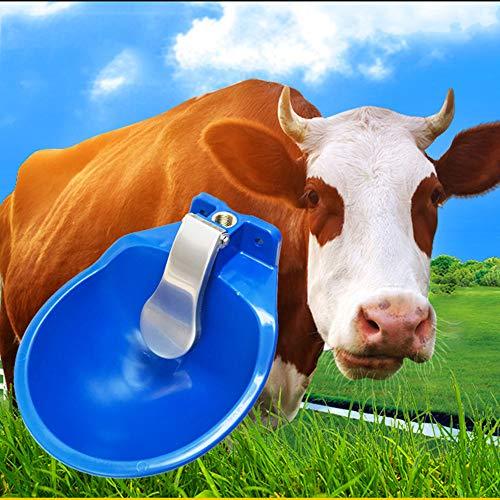 WHR-HARP Comederos para Caballos Alimentadores Automáticos de Agua de Cabra Alimentador de Animales Plásticos Bebedero Automático Suministros para Ganado