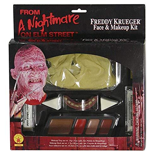 Rubie's Costume A Nightmare On Elm Street Freddy Krueger Makeup Kit, Brown, One Size