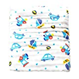 MINI Boutique - Manta Infantil de algodón con 6 Capas de Gasa, para bebé, Mantas de Ropa de Cama Infantil Suave, 11, 105 * 105cm