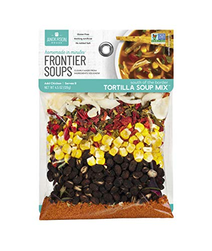 Frontier Soups Homemade In Minutes Soup Mix, South of The Border Tortilla, 4.5 oz