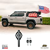 Cali Raised LED Bed Rail Flag Pole Mounting System Compatible with Toyota Trucks