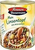 Sonnen Bassermann Linsen-Topf , 3er Pack (3 x 800 g Dose)