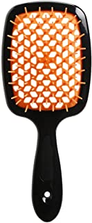 KeyHome Detangling Hair Brush, New Hollow-out Massage Curl Comb for Natural Curly Wet Dry Thick Straight Long Hair (C)