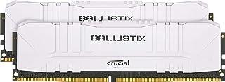 クルーシャル (マイクロン製) デスクトップ用ゲーミングメモリ 8GBX2枚 DDR4-3200 CL16 DIMM White 制限付無期限保証 BL2K8G32C16U4W【国内正規代理店品】