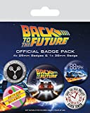 Back To The Future - Badge Pack