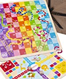 Jaques of London Let's Play Snakes and Ladders with Ludo