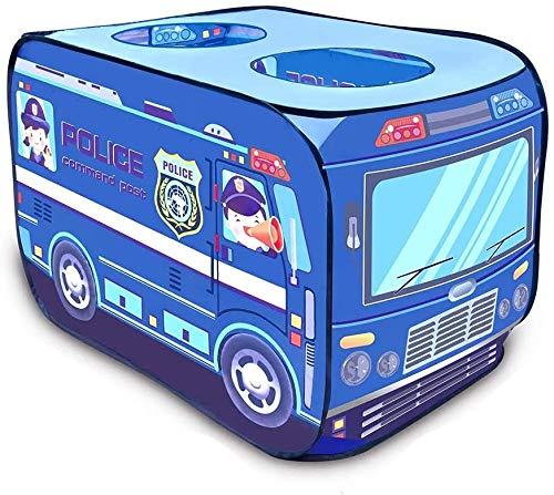 Pop Up Kids Play Tent, Portable Brandweerwagen Opvouwbaar Children's Tent Toy, Binnen/Buiten Gamehouse/Playhouse, Adventure Station Van De Baby Voor Kinderen Meisjes Jongens