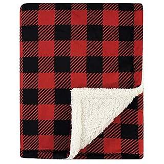 Hudson Baby Unisex Baby Plush Blanket with Sherpa Back, Buffalo Plaid, One Size (B08313RY9T) | Amazon price tracker / tracking, Amazon price history charts, Amazon price watches, Amazon price drop alerts