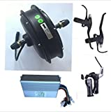 sarach store Kit eléctrico de la Bici del Equipo eléctrico de la Vespa de la Grasa 1500W 48V eléctrico de la Bici