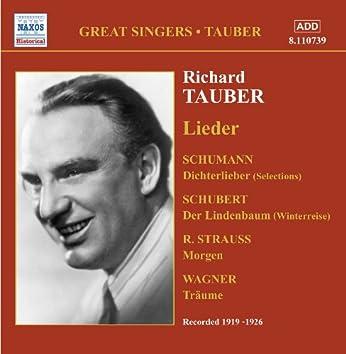 Tauber, Richard: Lieder (1919-1926)